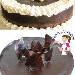 A cheesecake is by far a family favorite, now make it a chocolate Cheesecake and you got everyone's attention. This dark chocolate Cheesecake is baked with 80% good quality dark chocolate. Mixed with a little espresso and topped with sweet chocolate for that ultimate finish.