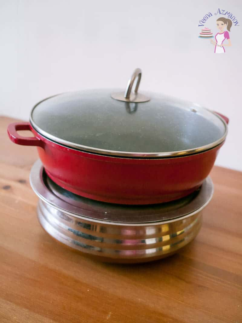 What pan should you use to make biryani? Well you can use any of these two pan - what do you look for in the pan?
