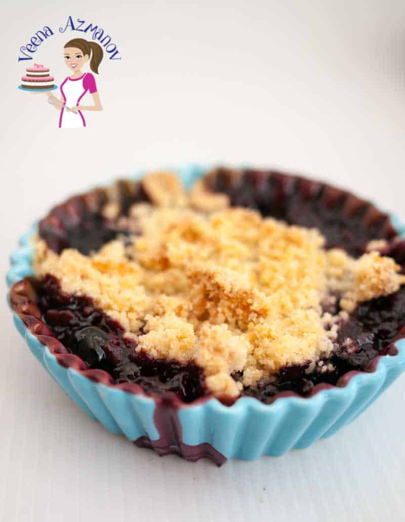 Easy Blueberry Crumble Recipe – Classic Blueberry Crumbles