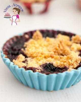 Perfect homemade Crumble Recipe with Blueberry every single time