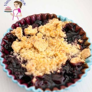 There is nothing more delicious in summer than fresh sweet berries is season. This Easy Blueberry Crumble is simple easy and a perfect treat any time of the year especially when they are fresh in season. Enjoy it just on it's own or with a generous scoop of ice cream.