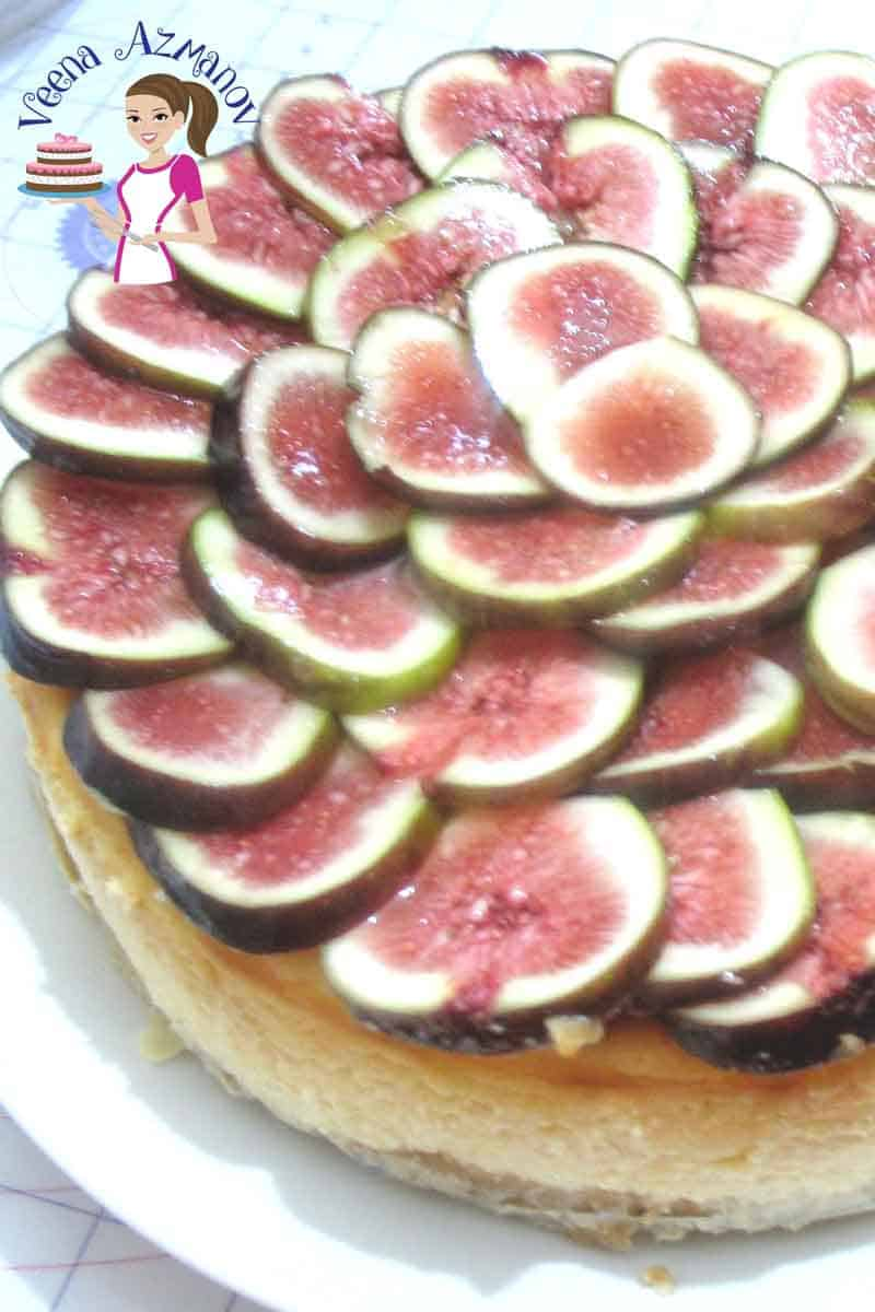 Not many people think of Figs when they think of Cheesecakes. But if you love cheesecakes and fresh figs as much as I do? You will love this combination of Fig Cheesecake. This simple delicious and easy fig cheesecake is creamy decadent and baked with fresh figs in the batter.