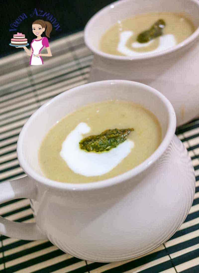 Healthy Potato Leek Soup Recipe aka Skinny Potato Leek Soup