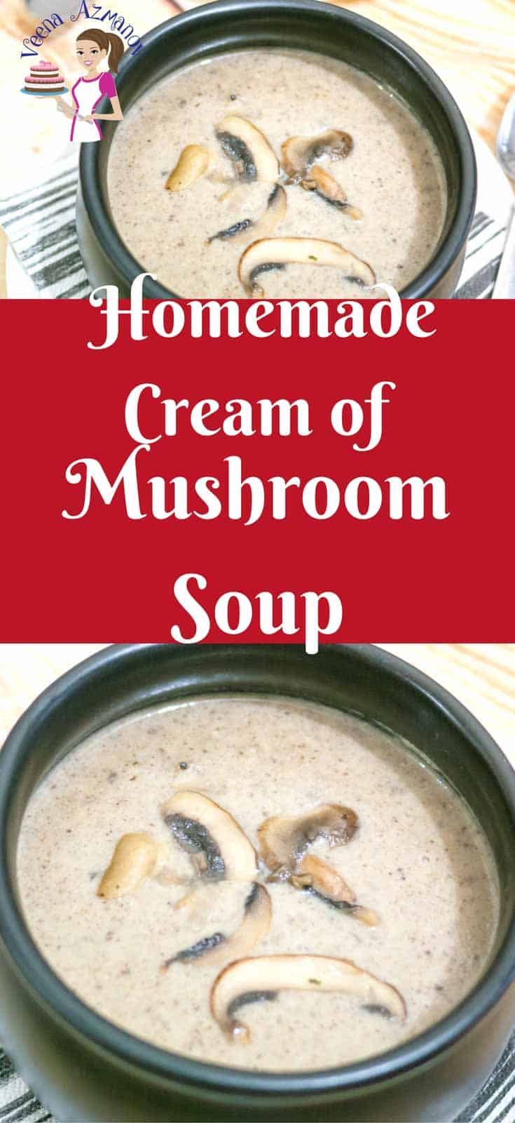 Simple, earthy, hearty, flavorful and fulfilling this homemade cream of mushroom soup is so easy to make with just a few simple ingredients you definitely have on hand. The best part it takes only 30 minutes to prepare, add a side of salad and you have dinner served.
