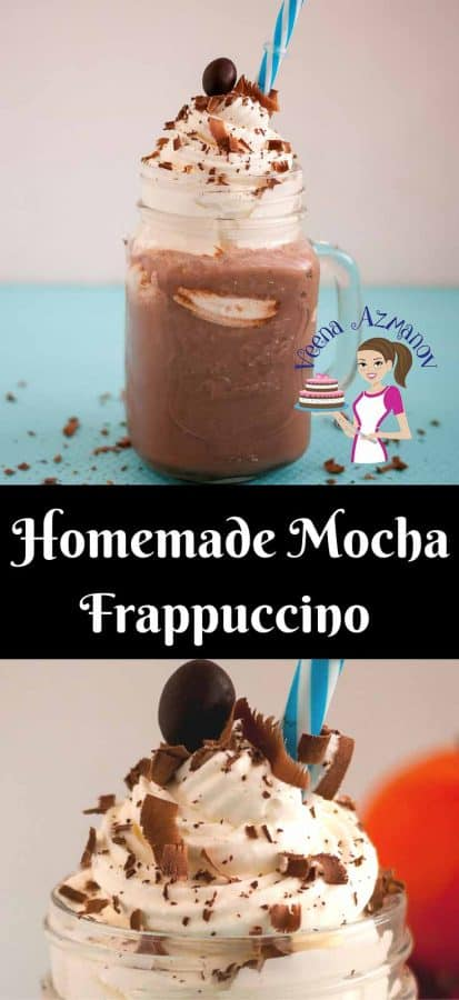 A good homemade mocha Frappuccino is surprisingly simple, easy and effortless. With almost all ingredient you probably already have in your pantry. A blender does the trick and you can enjoy a cool summer drink with not reservations.