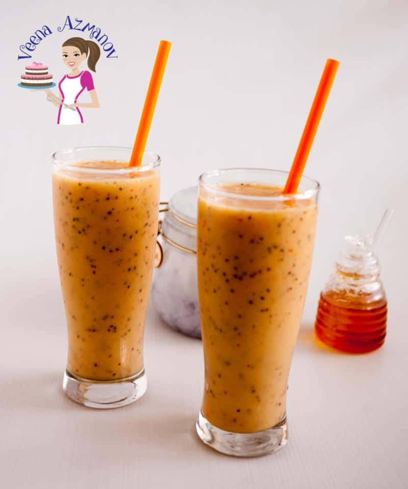 This creamy mango chia smoothie with yogurt makes a healthy, light and refreshing summer drink you will want to enjoy more often than you plan. Make it with fresh, frozen or canned mangoes and enjoy this drink all year round.