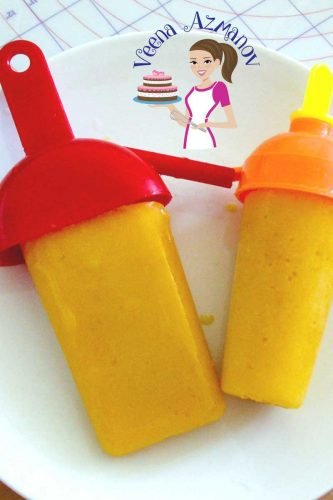 These delicious and creamy Mango Popsicle are simple, easy and effortless. Made with fresh or frozen mangoes, a few simple ingredients and a few hours of freezing to create this delicious summer Mango Ice Cream Pop.