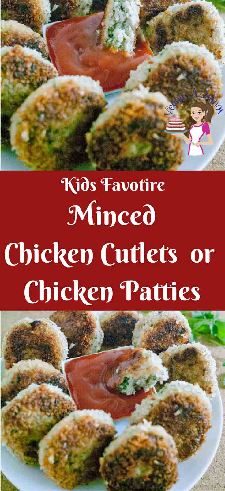 A perfect snack for kids or a side dish on the table. These minced chicken cutlets are simple, easy and effortless. Nothing beats adding all ingredient into a blender, rolling into a ball and cooking them right? Great to freeze for kids snack or lunch boxes too.