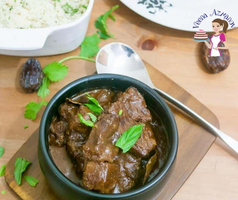 How to Make A Slow Cooked Beef with Moroccan Spices and Dates.