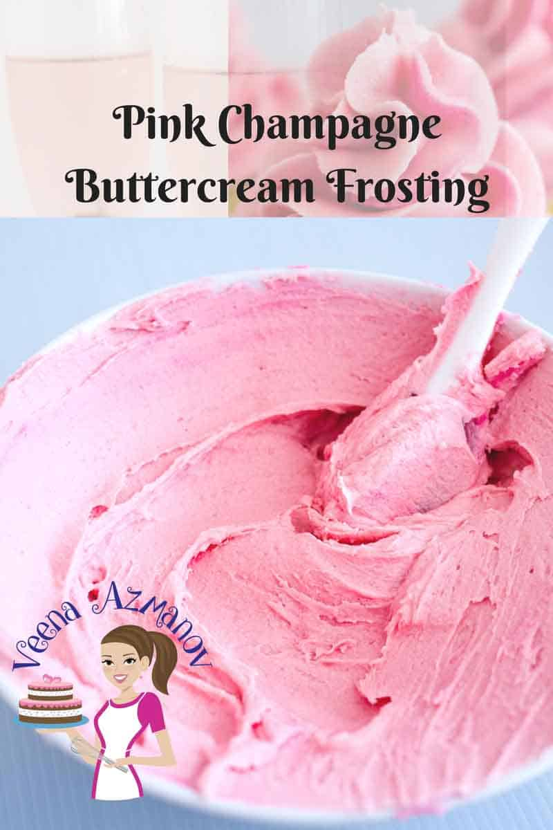 Perfect Pink Champagne Buttercream Frosting Recipe