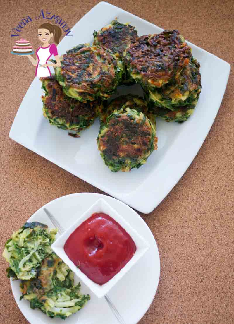 These spinach potato patties aka spinach cakes make great appetizers or side dish. Easy to make, full of nutritious greens and absolutely delicious to enjoy any time of the year. Serve them as a snack with some ketchup or sandwich them in mini burger buns for a quick veggies burger.