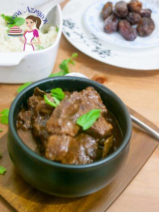 Moroccan Slow Cooked Beef with Dates and Hot Paprika