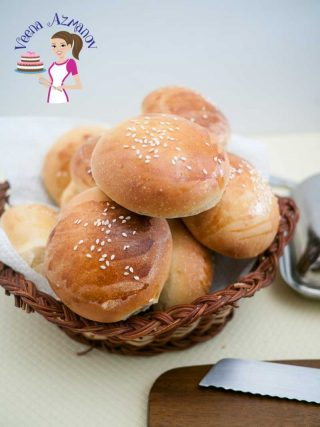 These soft burger buns are the best you will ever make the next time you plan your burger feast. They are soft, fluffy and golden but most importantly they are easy and with my step by step pictures you will make them more often then you plan