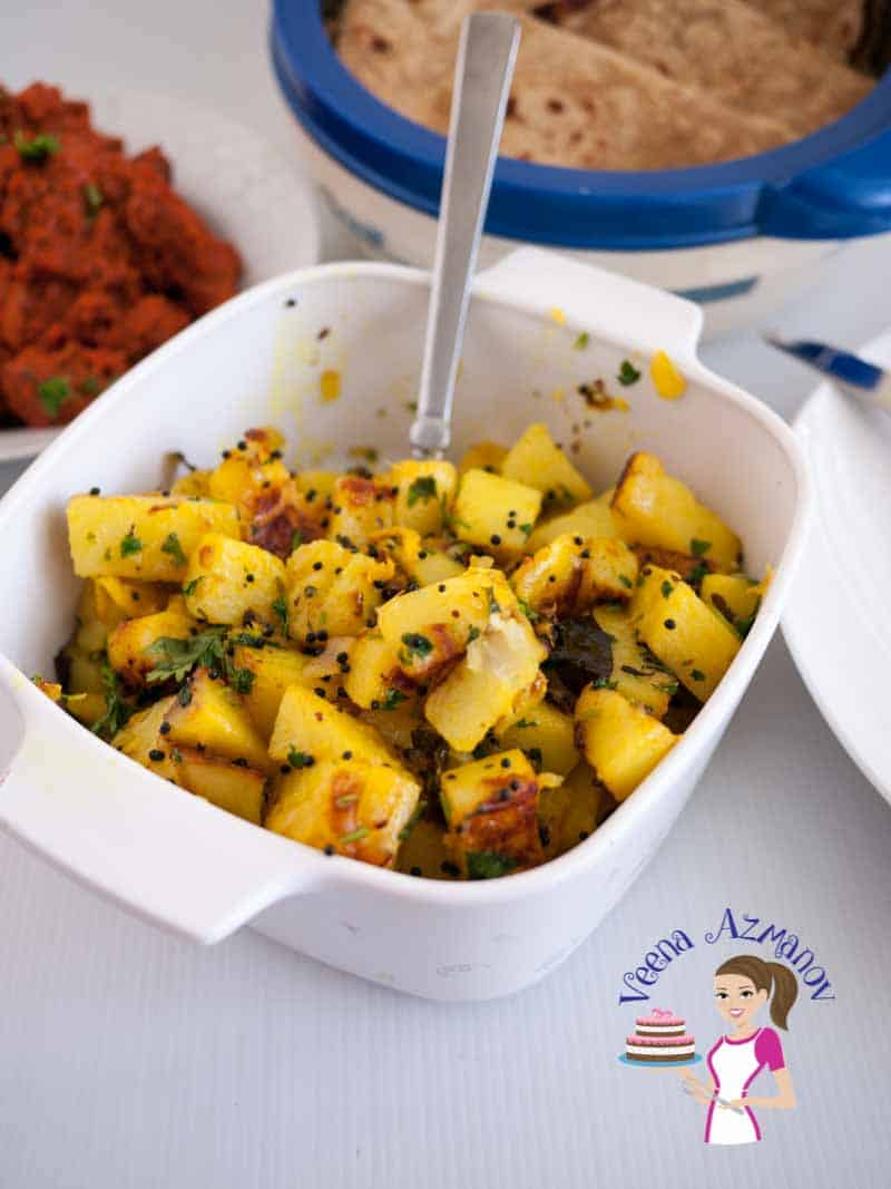 Spiced Indian Potatoes (4)