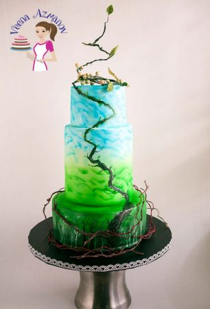 Jack and the Beanstalk Cake inspired Stylized Fairy Tale Collaboration
