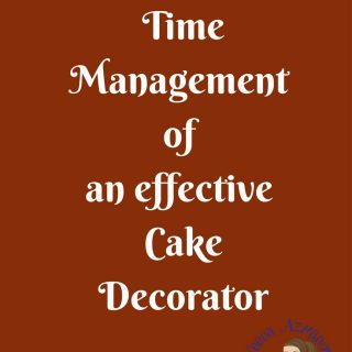 Have you ever been over whelmed with so much to do and not much time to do it all? Cake Decorating is not a difficult profession but it is a very time consuming job! In this post time management of an effective cake decorator I have some simple tips on how to manage your time effectively and efficiently. I hope it helps.