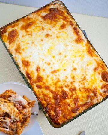 Penne lasagna.