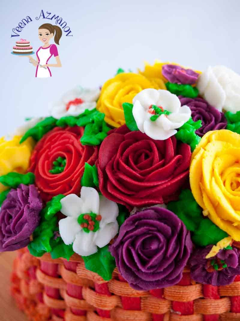 Stiff Buttercream frosting for cake decorating – Buttercream Flowers