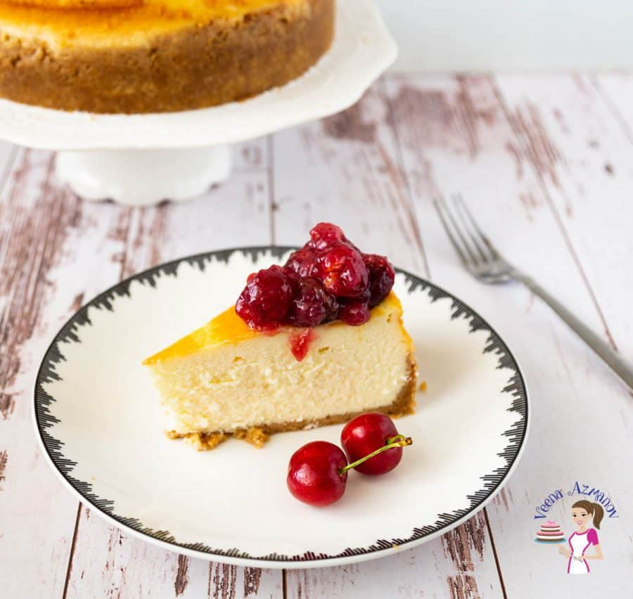 How to make classic cheesecake recipe with Cherry Filling