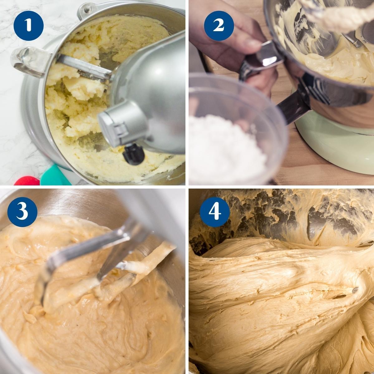 Progress Pictures for Butterscotch Buttercream