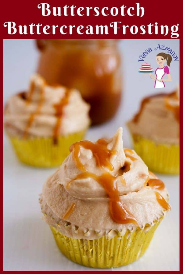 Learn to make scrumptious cupcakes with butterscotch flavor and buttercream