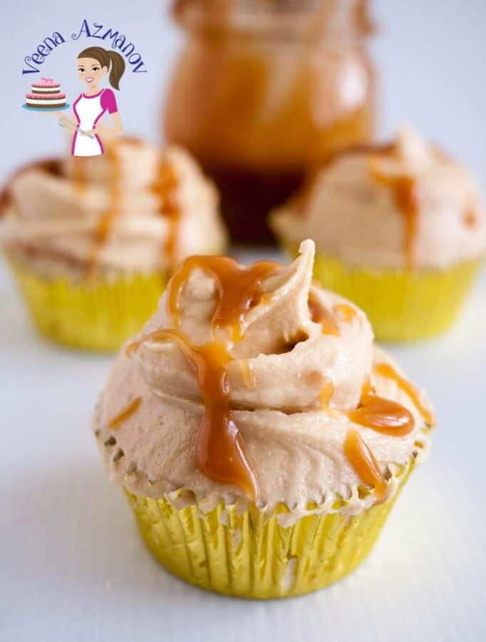 I call Butterscotch buttercream frosting the twin sister of caramel buttercream frosting. While still quite similar butterscotch buttercream has a uniquely delicate and sweet flavor from the brown sugar. Must softer than a caramel frosting and goes well with a number of amazing cake flavors such as banana, pumpkin, apple and and even simple vanilla or chocolate cupcakes.