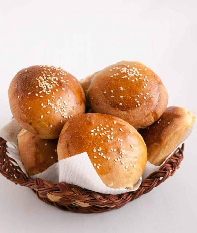 A burger bun is as important as the burger it self. Soft with a tender crust that melts in the mouth with the burger. That is what these soft whole wheat Burger Buns are - soft, tender and nutritious and homemade.