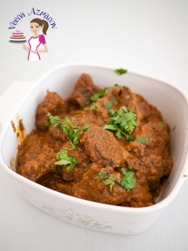 This slow cooked Indian beef curry is simple, easy and flavorful. The meat is so tender it almost melts in the mouth. Weather you cook on the stove top for two hours or in a slow cooker for 4 hours you will be greeted with the aromas of sweet Indian spices and freshness of herbs.