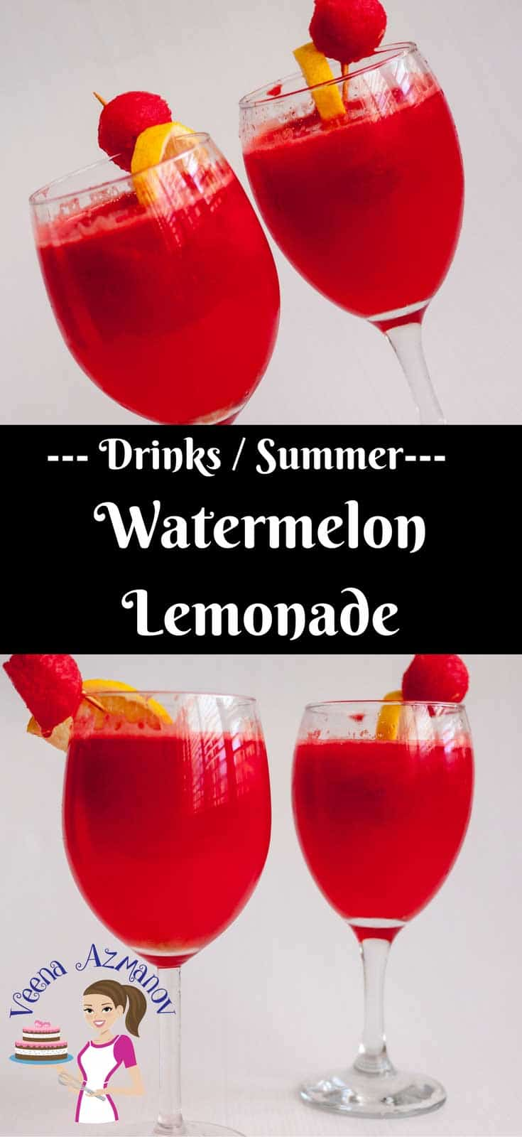 Weather you looking to add more freshness to your lemonade or more zing to your watermelon, this watermelon lemonade is a perfect summer treat. Sweet, light and refreshing - it's like summer in a drink.