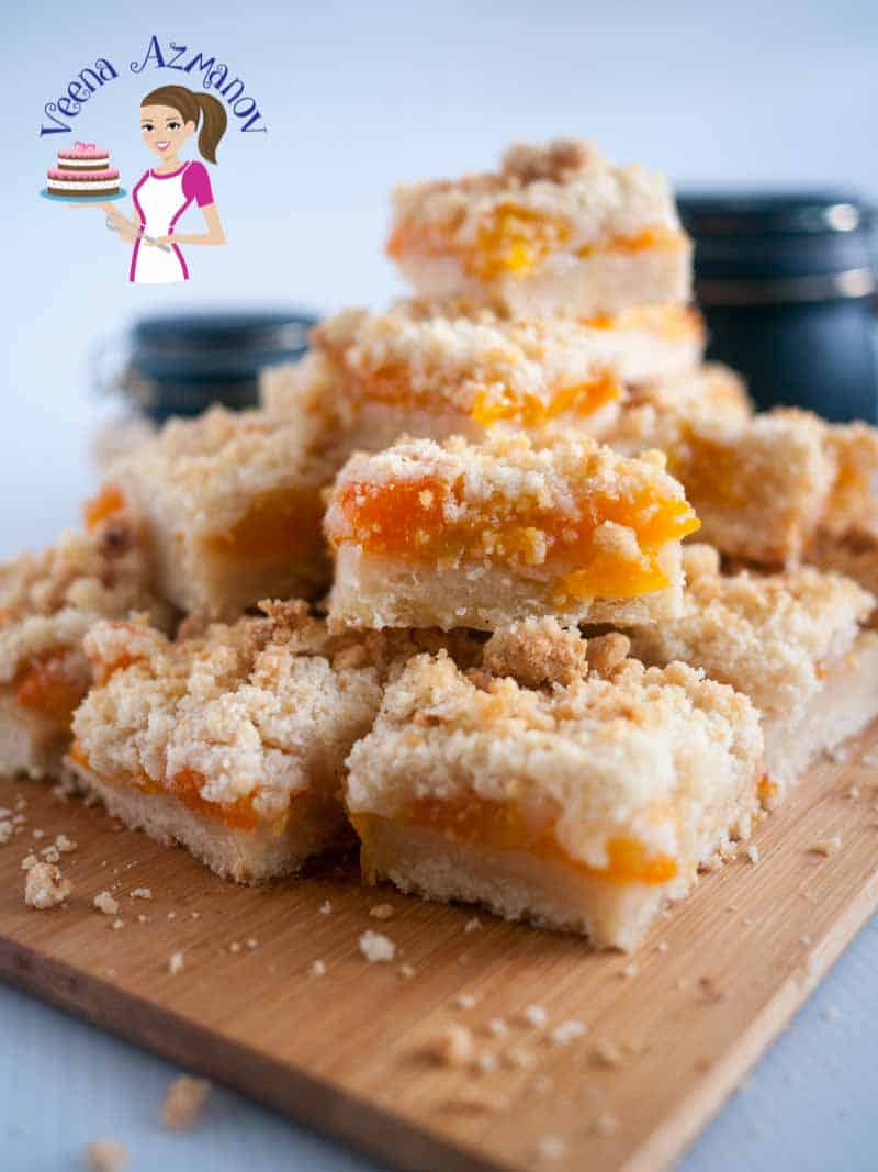 The Best Homemade Apricot Crumble Squares