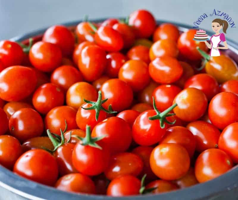 Cherry Tomatoes for a Tomato Salad