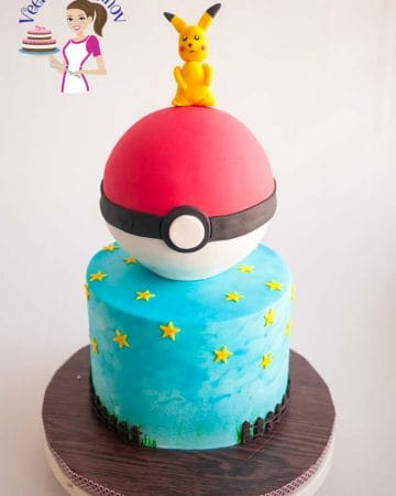A Pokemon birthday cake.