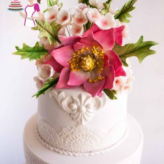 Homemade Gumpaste Recipe For Sugar Flowers Gum Paste Veena Azmanov