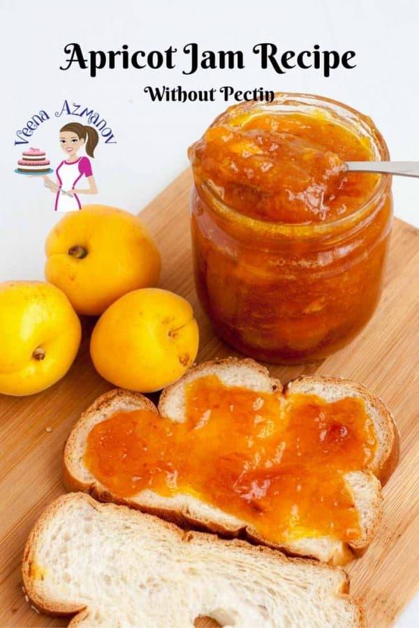 Jam, Homemade, apricot, no pectin, best homemade jam, natural apricot preserve