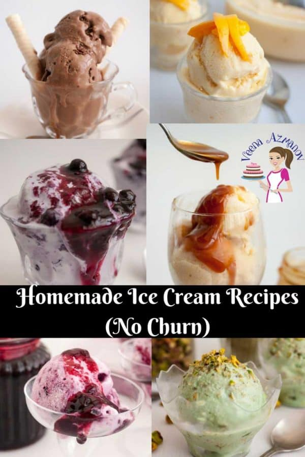 A Delicious Collection of Homemade Ice Cream Recipes... NO Ice Cream Maker Required