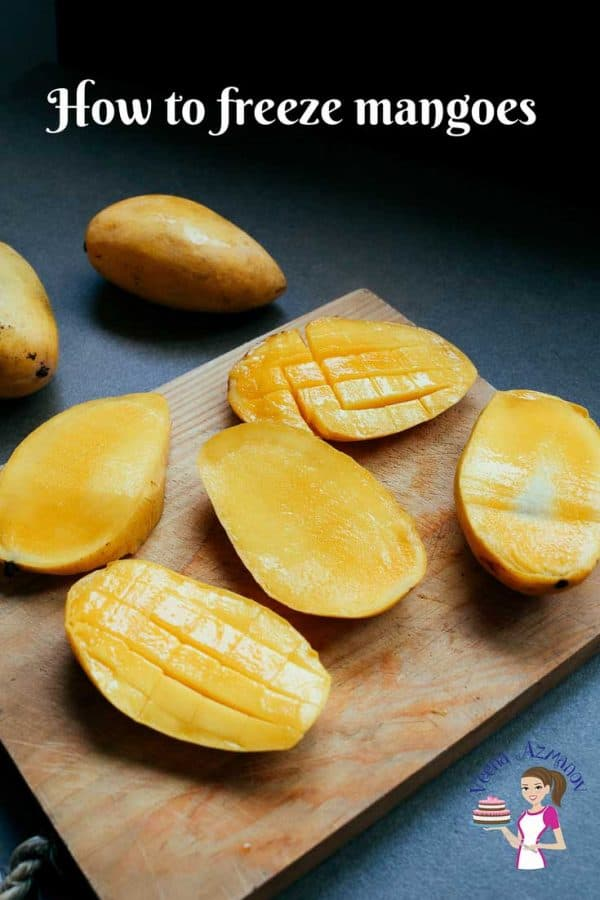 One of the best ways to eat fruits offseason is to preserve them for a long time meaning freeze them. You can freeze mango in slices or as mango pulp. You can also preserve mangoes by making mango fillings, chutney and pickles. This is a simple easy and effortless way to freeze mangoes but this technique can be used with almost any seasonal fruits