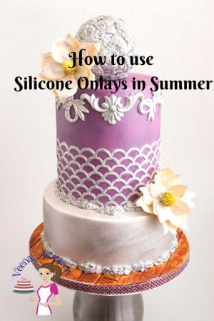 These Silicone onlays are simple and easy to use. They create such impressive and quick designs that they are worth an investment. But if you live in a hot and humid place using these can be a challenge. So here's an alternate way to use it in summer.