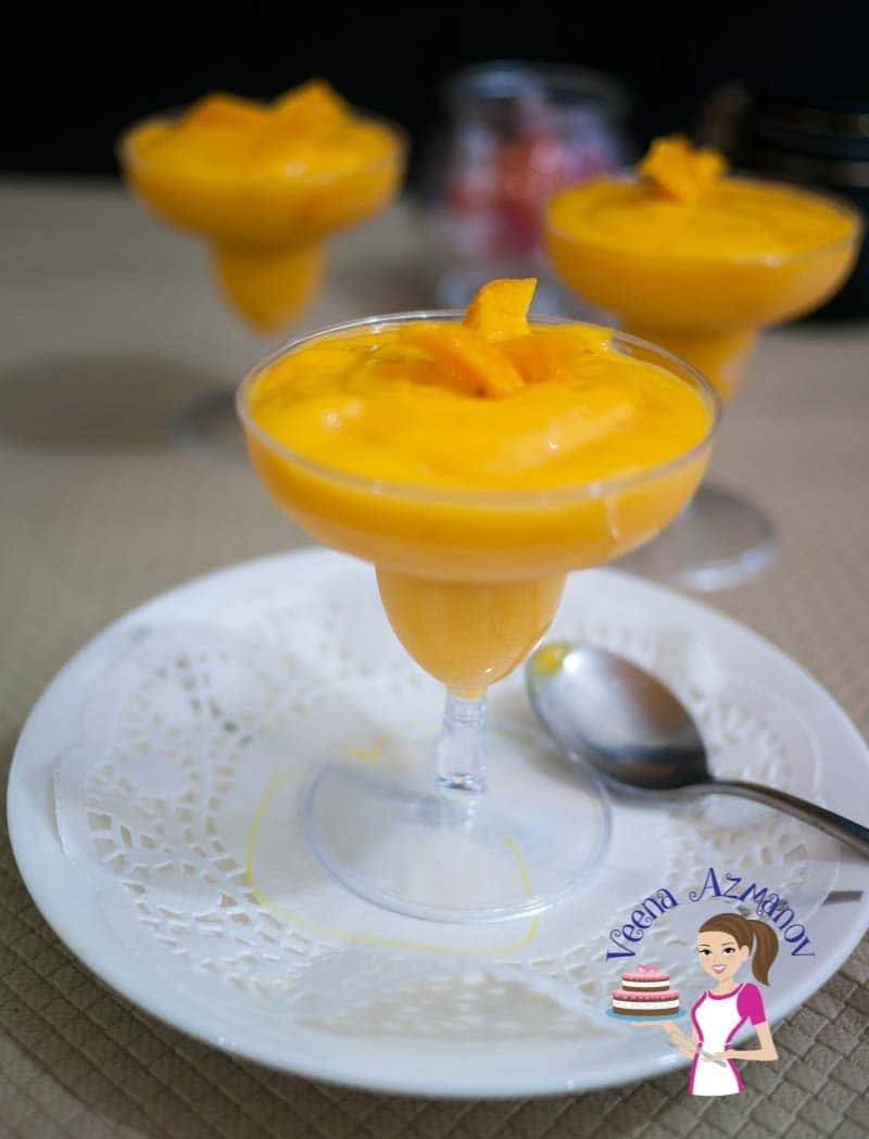 This vegan mango mousse is basically a mango coconut cream mousse made with just four simple ingredients. Weather you use fresh, frozen or canned mangoes this mango mousse is a treat you can enjoy any time of the year.