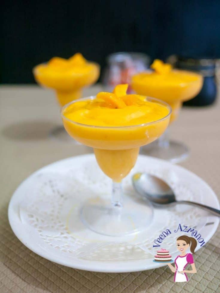 Mango Coconut Cream Mousse Recipe