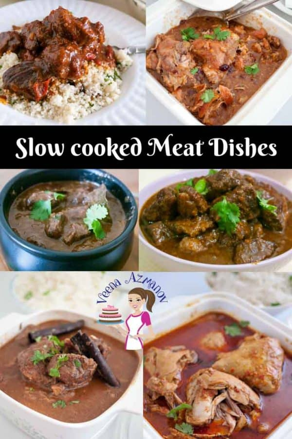Nothing beats a slow cooked fork tender meat, right? Here are a few slow cooked meat recipes that are absolute comfort food.. Server them in summer or winter for a real treat.