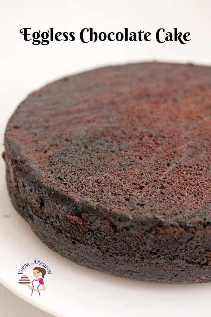 Moist Chocolate Cake, Eggless, Moist Fudge Cake,