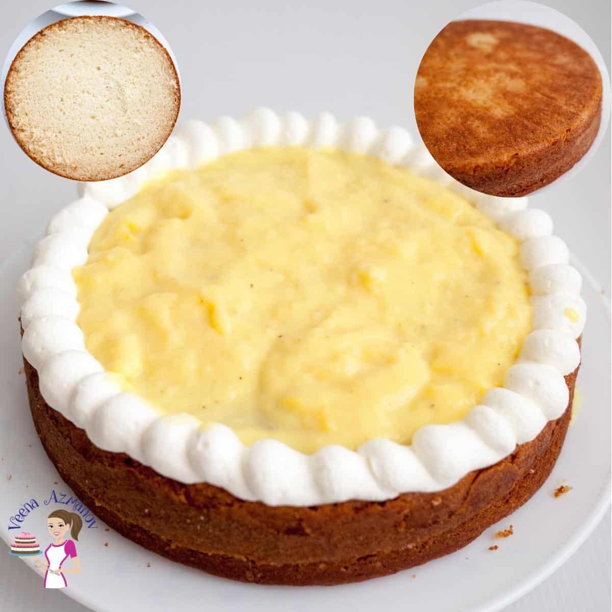 Homemade Cake Recipe Vanilla Flavour and Eggless