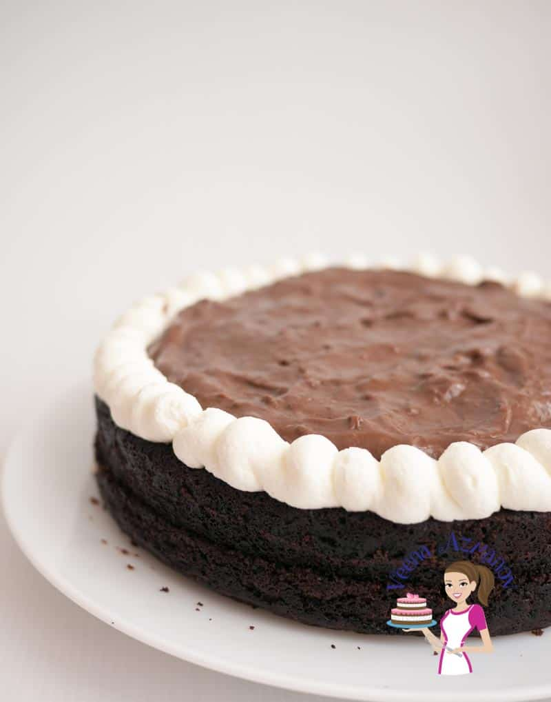 How To Make Simple Eggless Cake In Oven