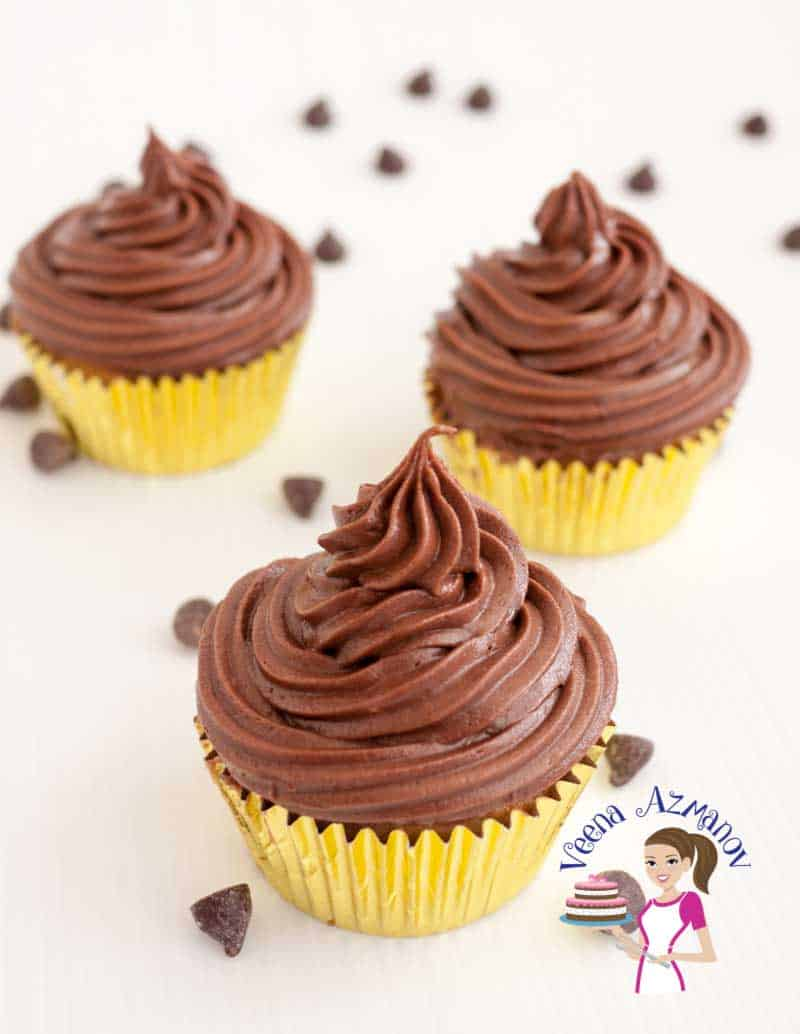 These chocolate fudge cupcakes are the ultimate luxury for any chocolate lover. Made with real chocolate in the batter as well as the frosting. The cupcakes are moist light with a soft crumb and the frosting is rich, dark and indulgent.