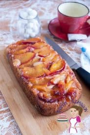 This plum coffee cake is a perfect tea time treat when you need something light, fruity and still elegant. The tart plums are softened and almost caramelized with brown sugar. The cake is a simple light soft crumb cake that compliments it perfectly.#plums #coffeecake #upsidedown #cake #recipe #plumcake #coffee #plumcakerecipe #baking