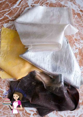 Homemade Edible Fabric Recipe aka Edible Silk Recipe