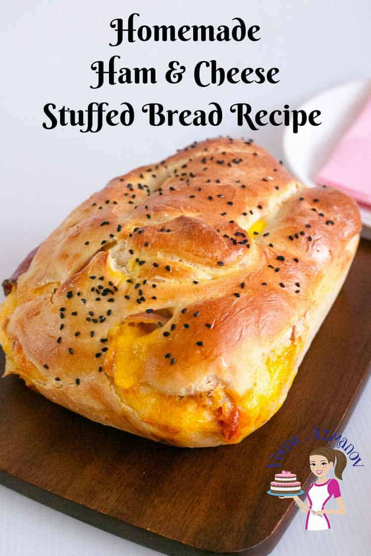 Featured Image - for Homemade Ham and Cheese Stuffed Bread Recipe