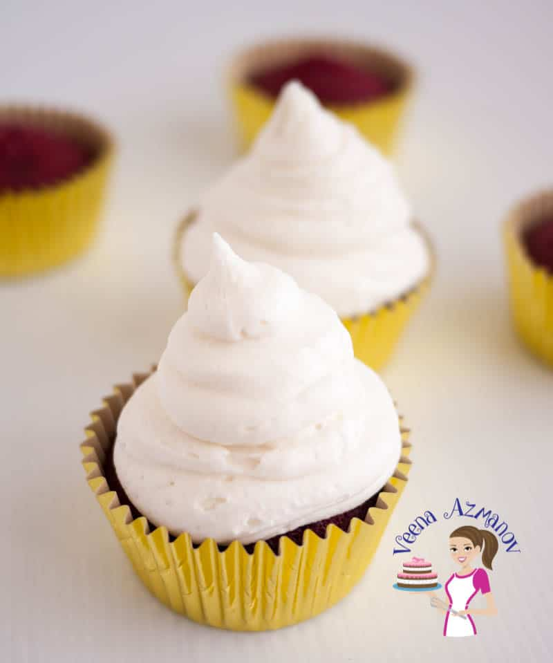 Noting beats a rich deep moist red velvet cupcakes topped with luxurious cream cheese frosting that just melts in the mouth. This simple easy and effortless recipe will have you make these cupcakes more often than you planned.