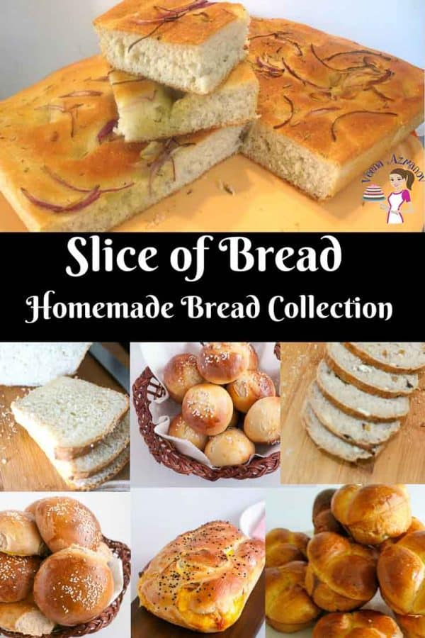 Image for Slice of Bread - Homemade Bread collection from the perfect homemade Focaccia to the softest burger bun recipes