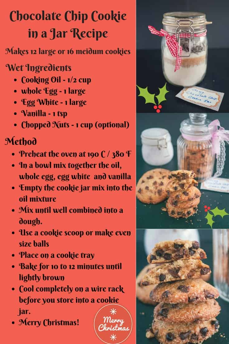 Dont Forget To Give The Printed Recipe Card With Jar